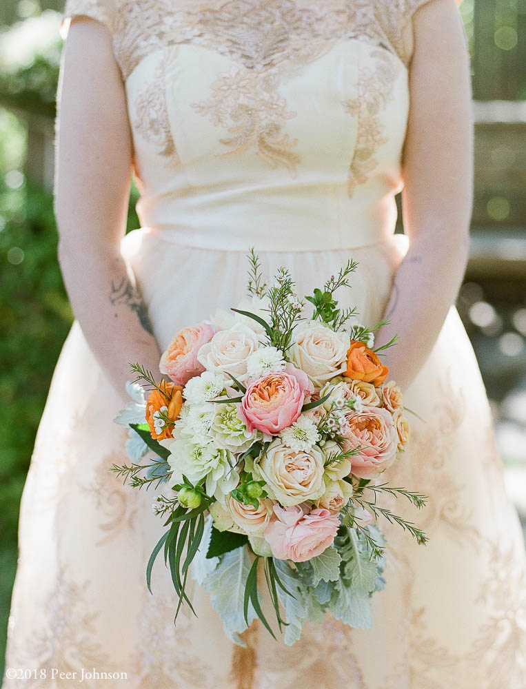 cambria wedding flowers