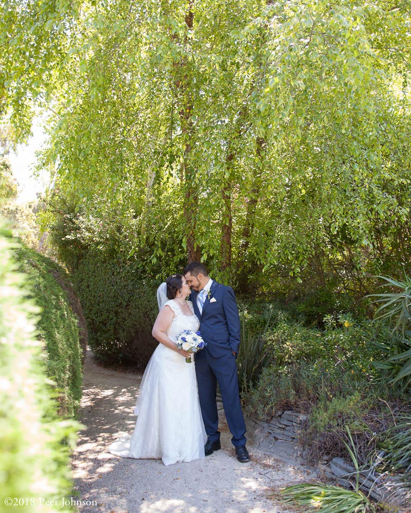 wedding cambria pines lodge