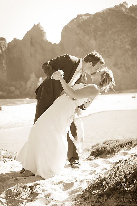 bigsurwedding25 Pfieffer Beach Wedding   Big Sur, California