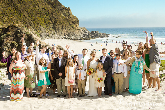 bigsurwedding28 Pfieffer Beach Wedding   Big Sur, California