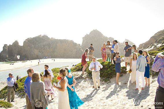 bigsurwedding29 Pfieffer Beach Wedding   Big Sur, California