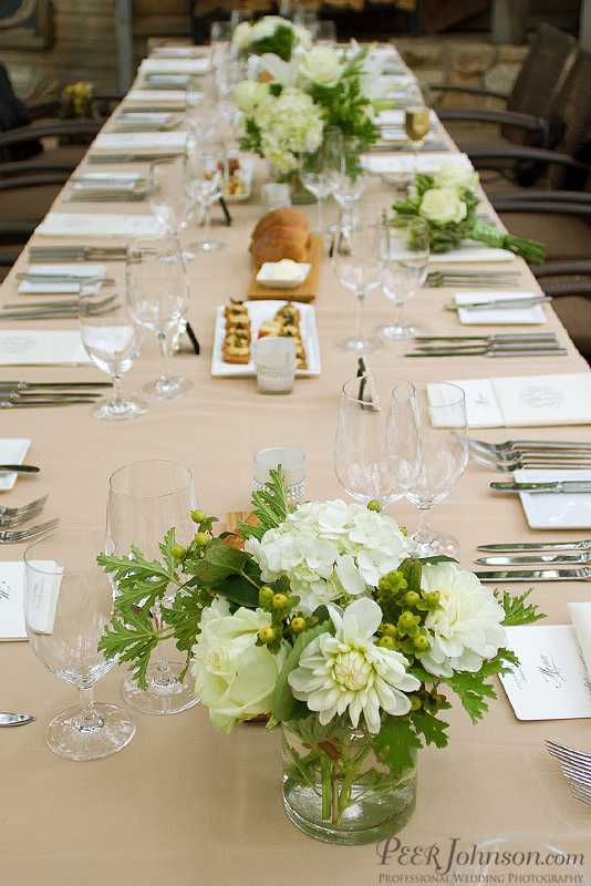 Ventana Inn & Spa Table Setting
