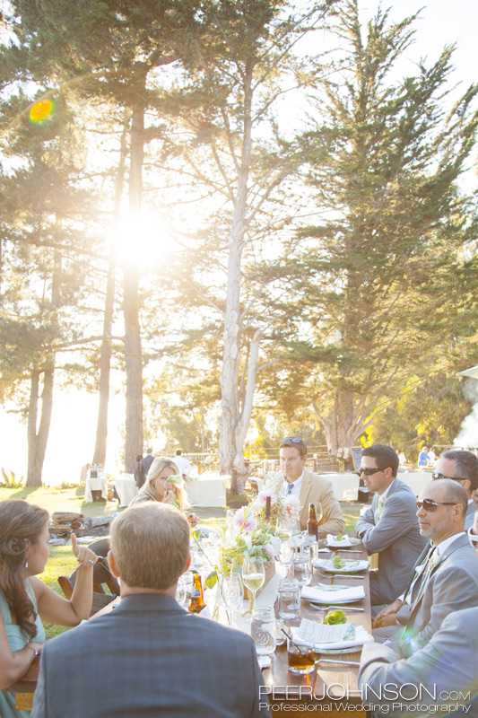 Big Sur Wedding Reception4