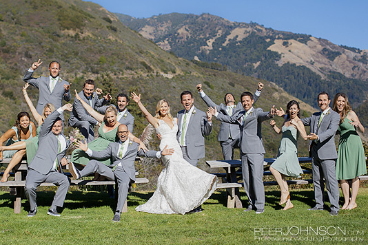 Big Sur Wedding Party