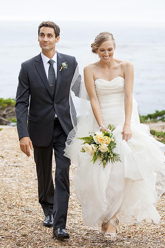 Carmel Beach Wedding