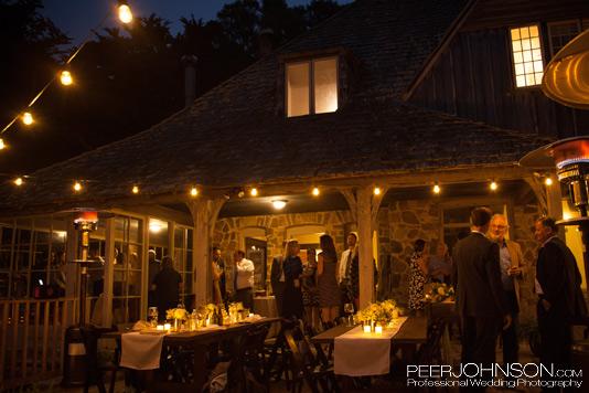 Carmel Estate Wedding Reception
