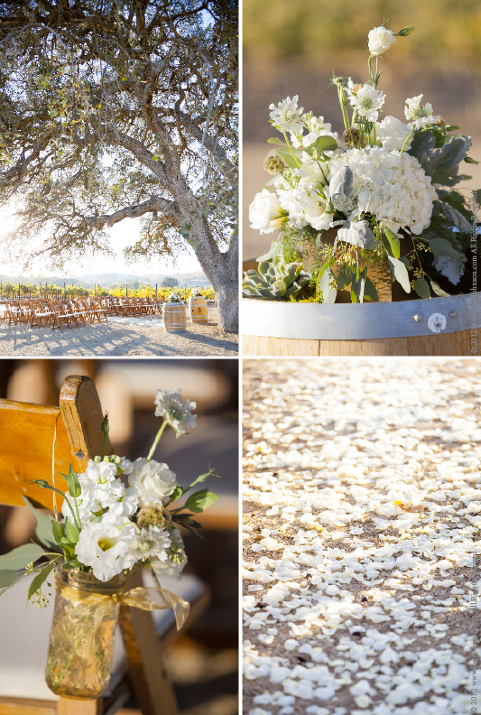 PasoRoblesWeddingFlower Cass Winery Fall Wedding