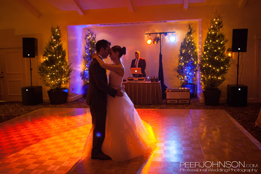 Bernardus Lodge First Dance