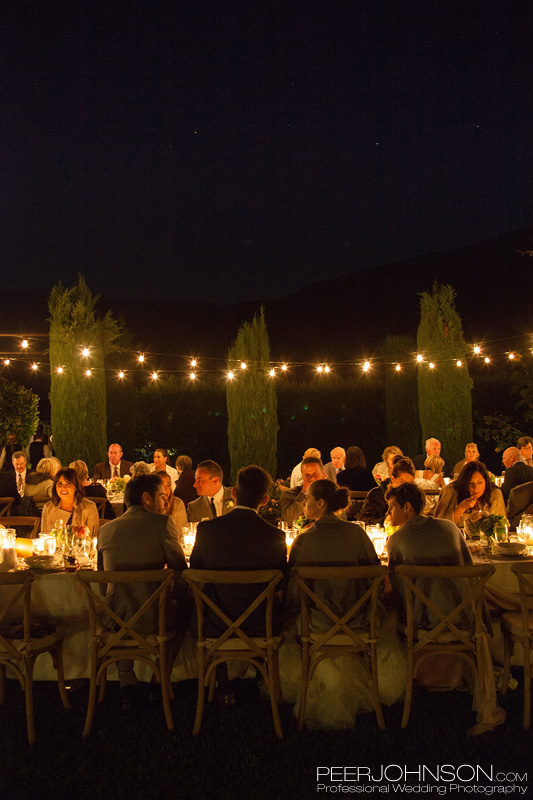 Bernardus Lodge Outdoor Reception