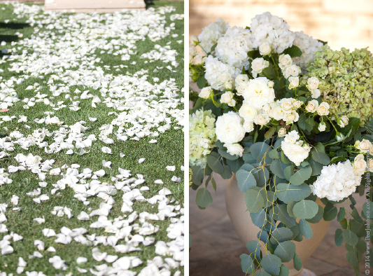 Carmel Valley Wedding Ceremony Flowers