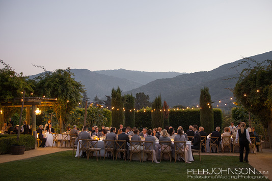 Carmel Valley Outdoor Dinner