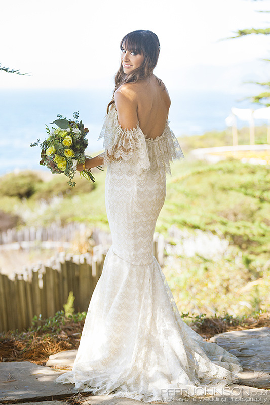 Wind and Sea Big Sur Wedding Dress