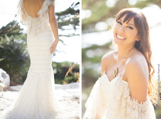 Big Sur Wedding Dress
