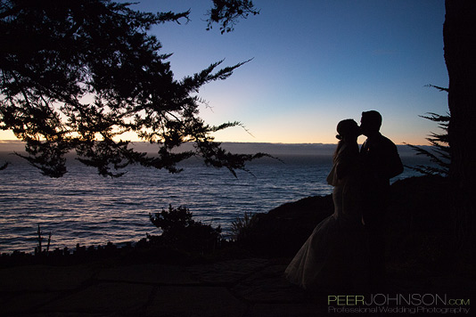 Big Sur Wedding Sunset