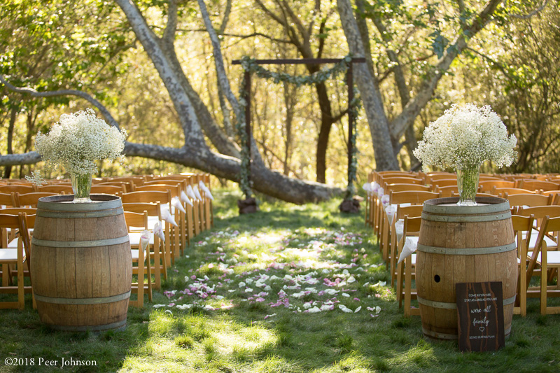 Gardener Ranch Wedding Ceremony Site