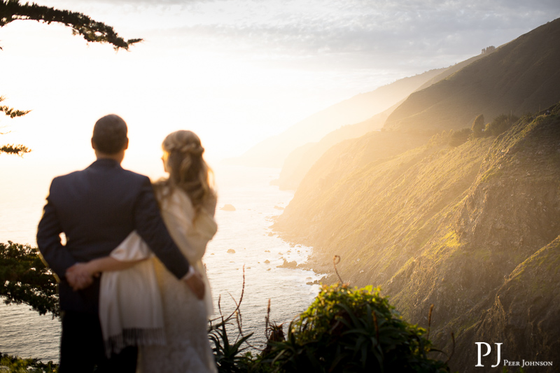 boho big sur wedding