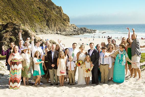 Pfieffer Beach Wedding Sur California