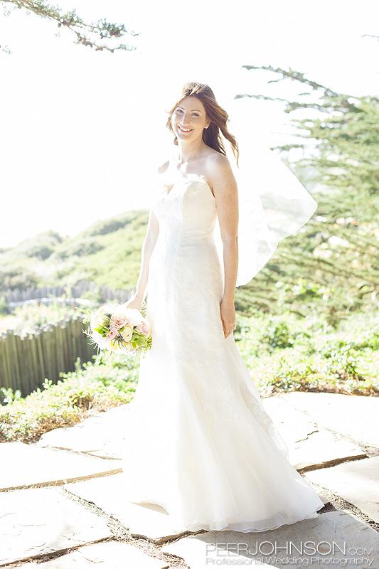 Wind and Sea Wedding in Big Sur