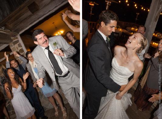 Fun Carmel Wedding
