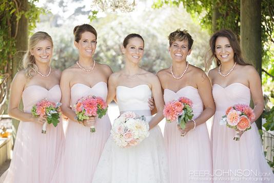 Bernardus Lodge Bridesmaids