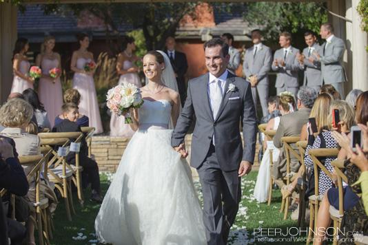 Bernardus Lodge Wedding Couple