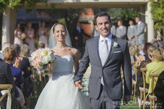 Bernardus Lodge Wedding Recessional