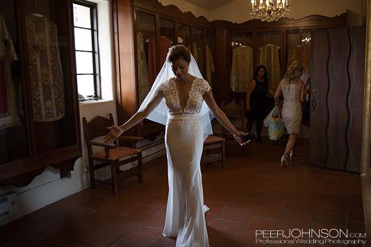 Carmel Mission Bridal Room