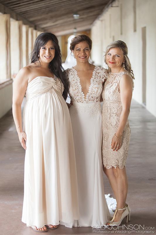 Carmel Mission Bridesmaids