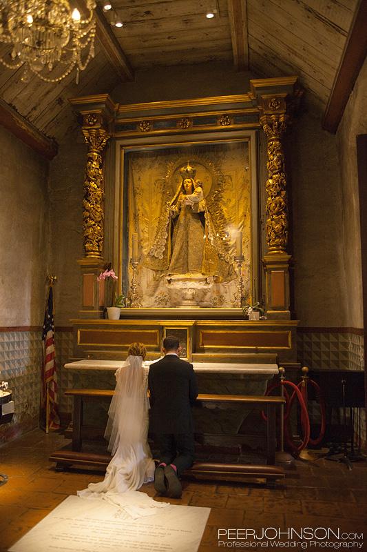 Carmel Mission Catholic Wedding