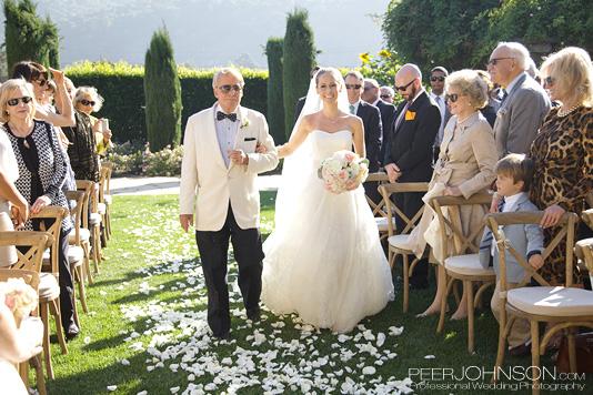 Carmel Wedding Ceremony Enterance
