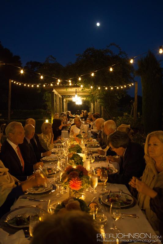 Carmel Winery Wedding Reception
