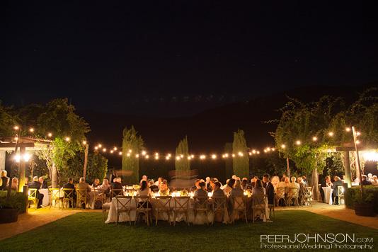 Carme Winery Summer Wedding Reception
