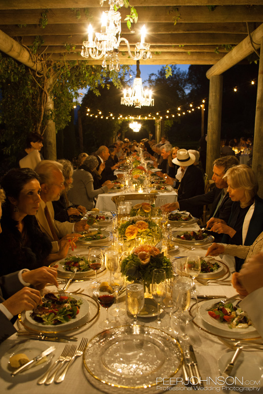 Reception Dinner Bernardus Lodge
