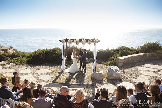 Wind and Sea Wedding Ceremony