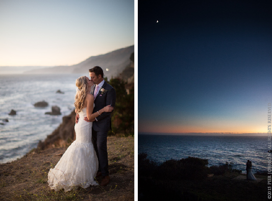 Wind and Sea Wedding Sunset