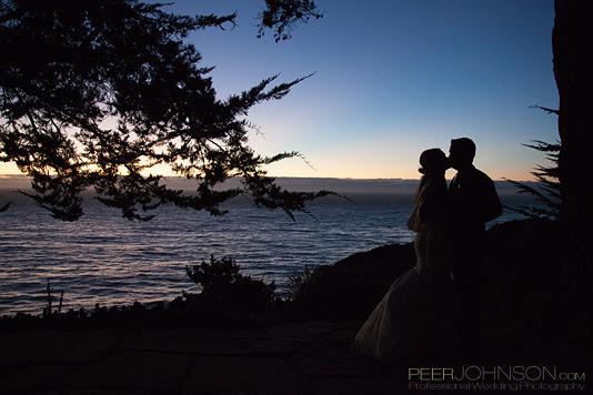 Big Sur Wedding Sunset