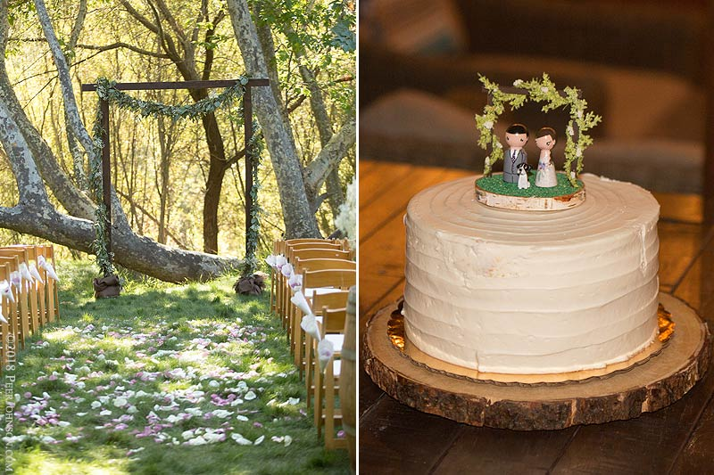 Gardener Ranch Wedding Cake