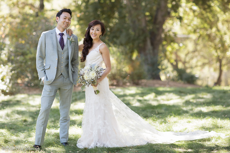 Bride Groom Gardener Ranch