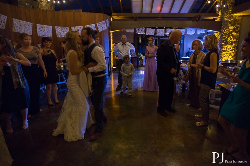 wedding reception ragged point