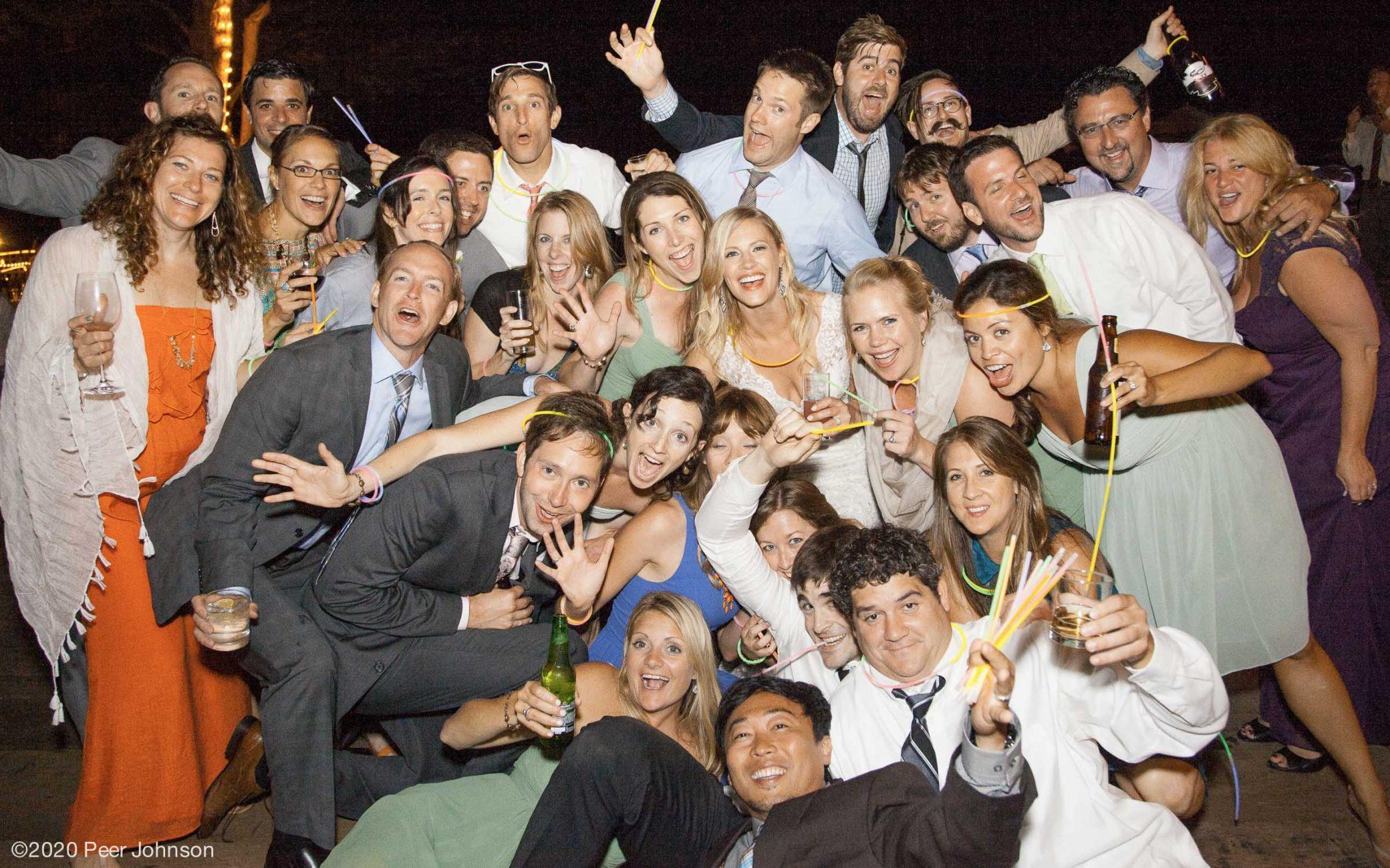Big Sur Wedding Reception