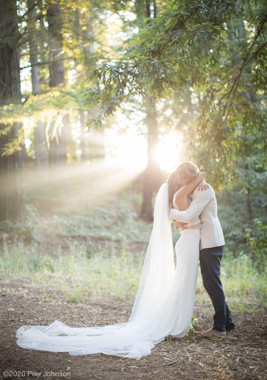 Redwood elopement Big Sur Post Ranch Inn.
