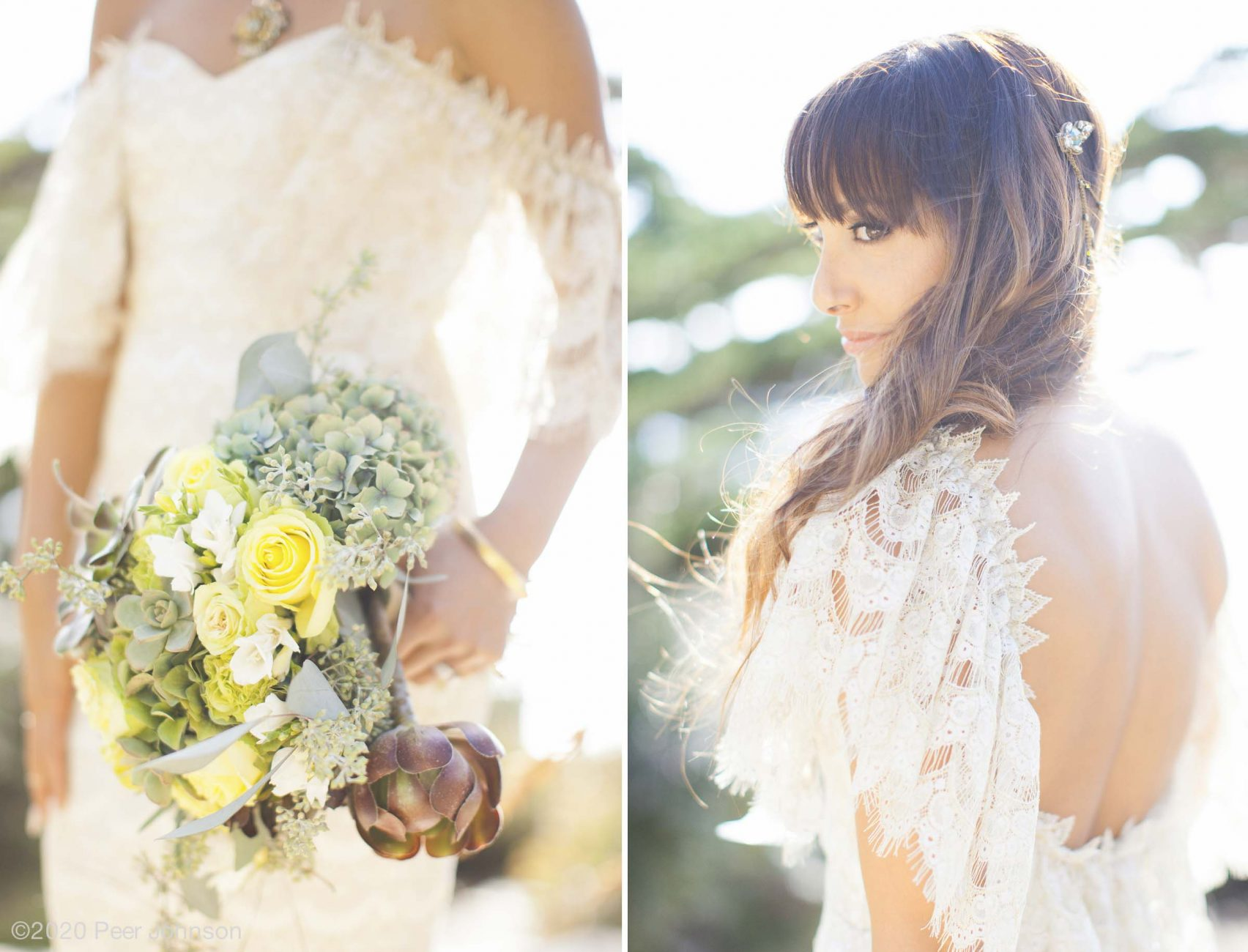 Wedding details at Wind and Sea Big Sur