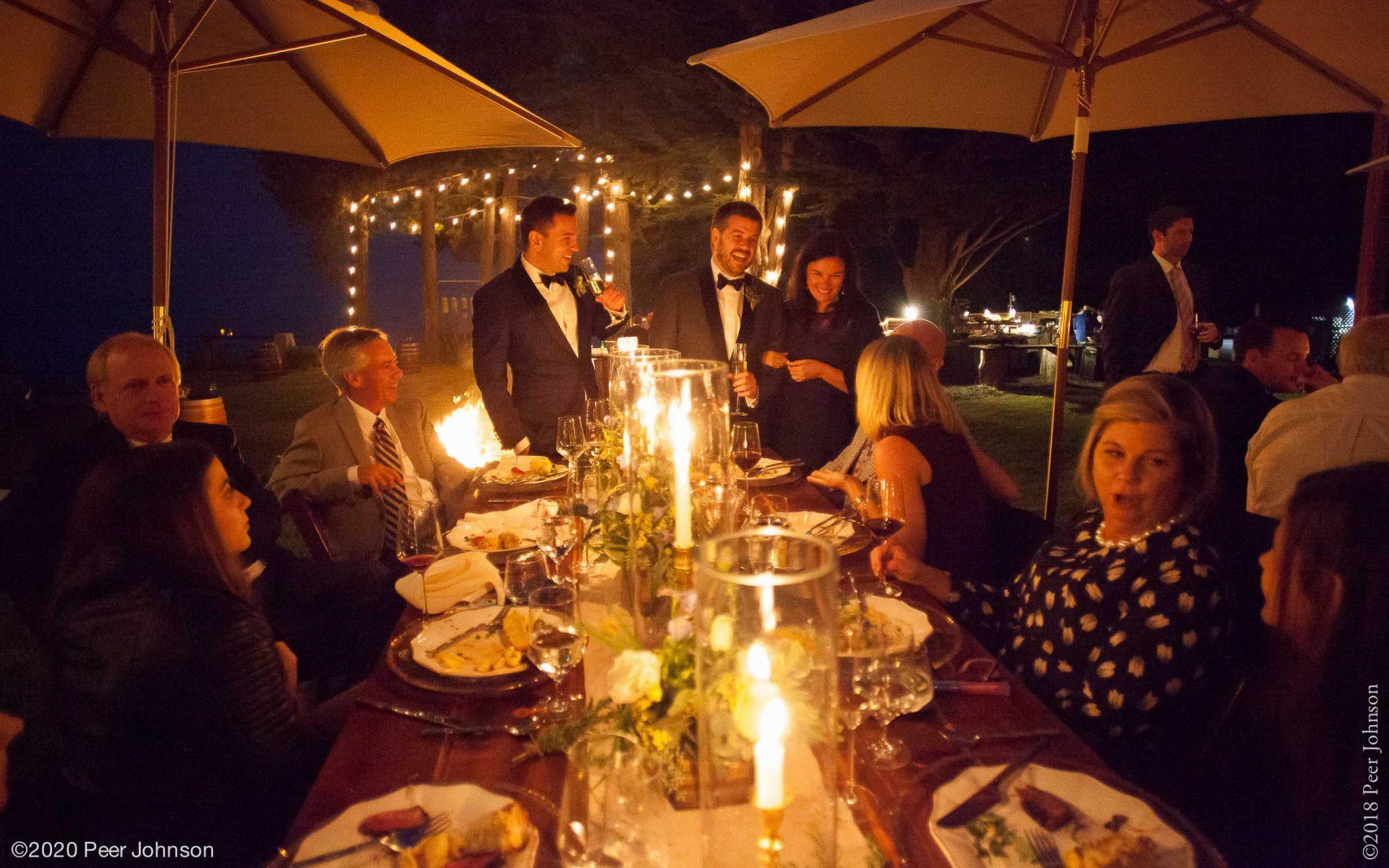 Wedding Reception Big Sur