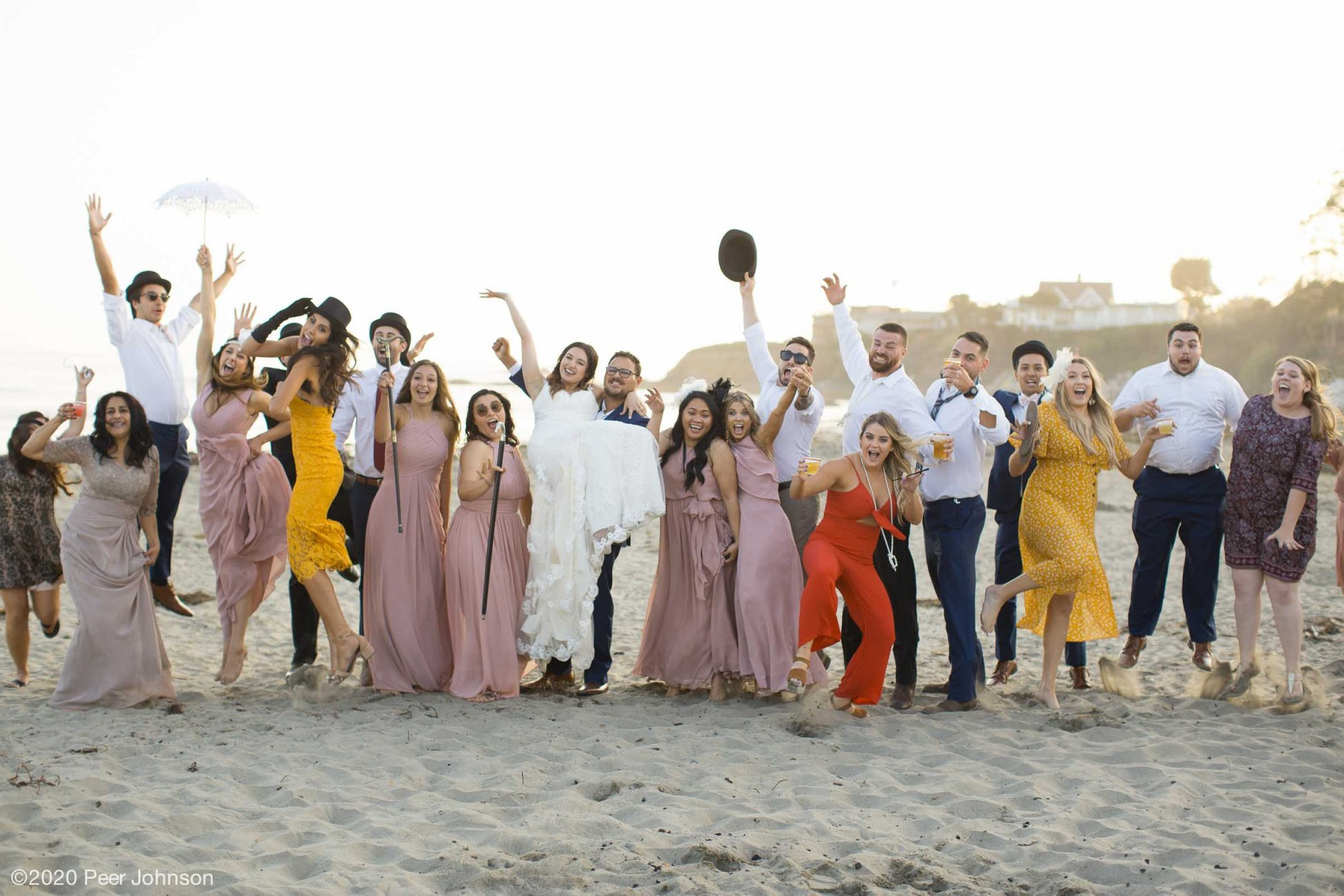 Beach Wedding in Cambria