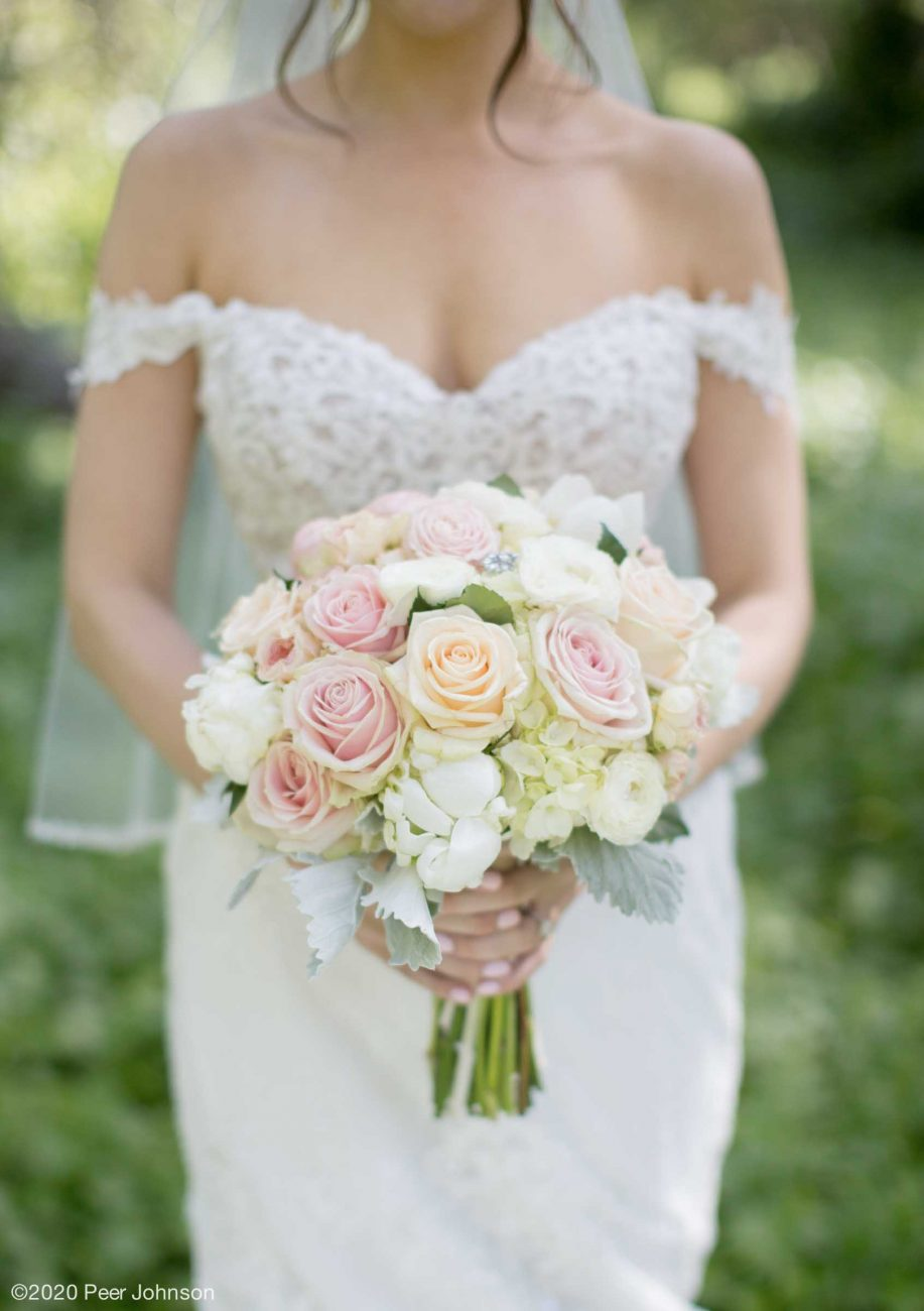 cambria nursery florist wedding bouquet