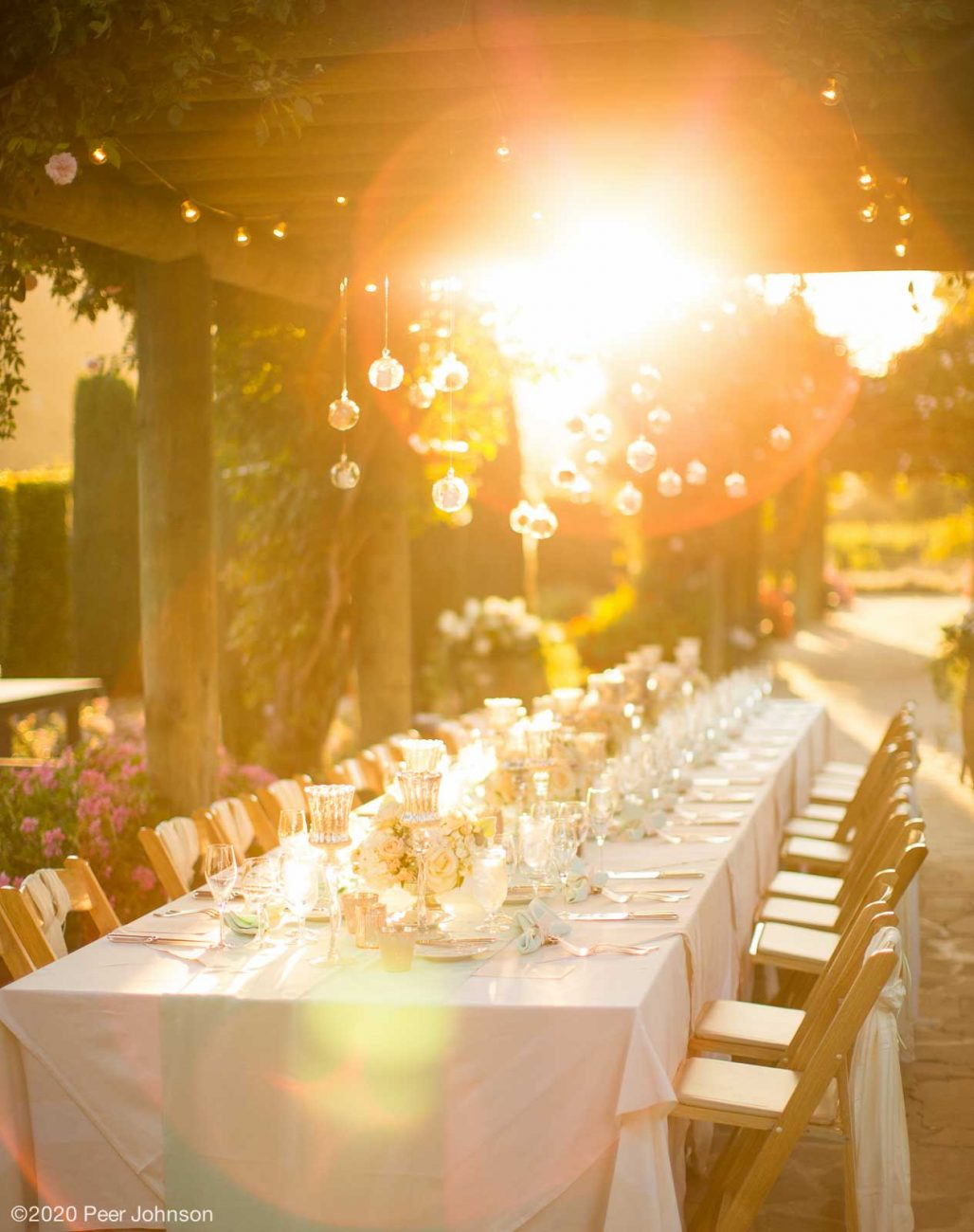 Carmel Valley Wedding Reception