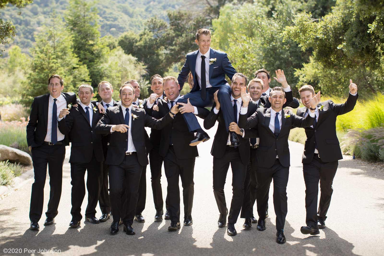 groomsmen in Carmel