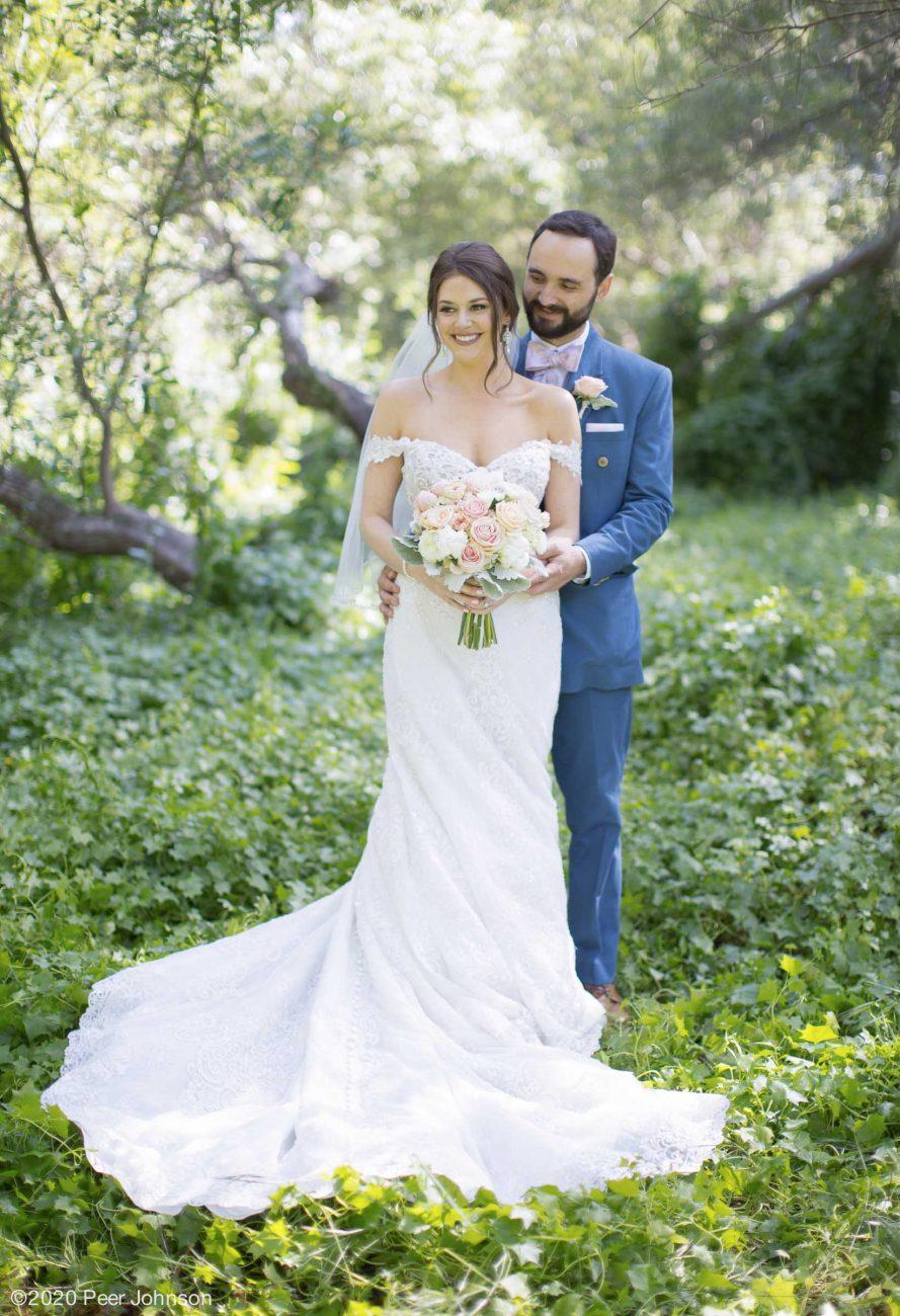 Cambria Wedding Couple